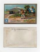CHROMO Chocolat Klaus Postes Universelles Guatémala Timbre Facteur Habits Traditionnels Drapeau Train - Chocolat