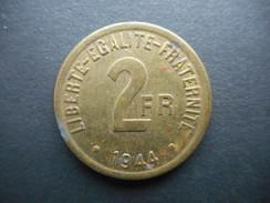 France 2 Francs 1944 - France