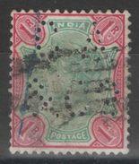 Inde Anglaise - YT 48 Oblitéré Perforé C A & C° - 1882-1901 Keizerrijk