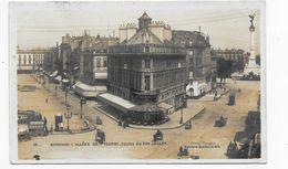 (RECTO / VERSO) - BORDEAUX EN 1907 - N° 32 - ALLEE DE TOURNY - COURS DU XXX JUILLET ANIME - BEAU CACHET - CPA VOYAGEE - Bordeaux