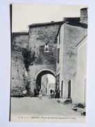 C.P.A. 64 LESCAR : Porte Des Anciens Remparts, Animé - Lescar