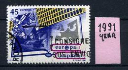 SPAGNA - Year 1991 - Usato - Used - Utilisè - Gebraucht.. - 1931-Oggi: 2. Rep. - ... Juan Carlos I