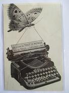 1913 - Machine à écrire De Voyage GLORIA Papillon - Coupure De Presse Originale (Encart  ) - Tools