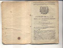 A Confirmer : Livret De Compagnon Horloger - Documents Historiques