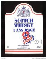 Etiquette De Scotch  Whisky  -  Famy -   Ecosse - Whisky