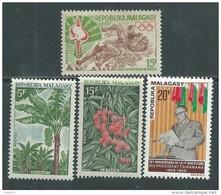 Madagascar N° 464 / 67  XX  Les 4 Valeurs  Sans Charnière, TB - Madagascar (1960-...)