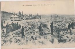 Bl - Cpa Cincinnati (Ohio) - The Ohio River, February 1905 (frozen River) - Cincinnati