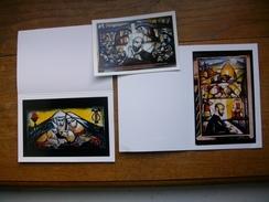 """3 Cartes Et Photos Du Grand Peintre Arménian """""""" Armiss """""""" Art Sacré Et Populiste - Arménie"""