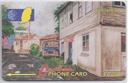 GRENADA - STREET SCENE GOUVYAVE - 10CGRC - Grenada