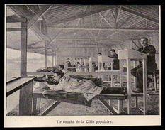 1900  --  TIR COUCHE DE LA CIBLE POPULAIRE   3N238 - Non Classés
