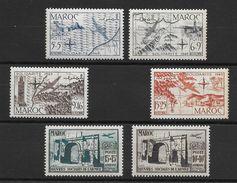Maroc PA N°75 à 80 1950 ** - Marruecos (1891-1956)
