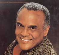 "Programma ""An Evening With Harry Belafonte"" - Tour 1998 - Programma's"