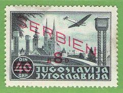 MiNr.29 X Deutschland Besetzte Gebiete II.WK Serbien - Besetzungen 1938-45