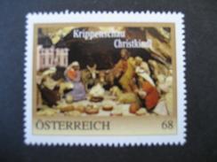 Personalisierte Marke Krippenschau Christkindl Postfrisch - Österreich