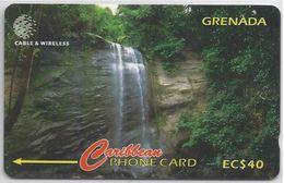 GRENADA - ROYAL MT. CARMEL WATERFALLS- 287CGRA - Grenada