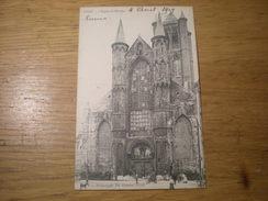 Gand, Léglise St Nicolas, Héliotypie De Graeve, 1909, Timbre (V3) - Gent