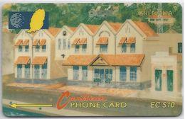 GRENADA - NEW GRENTEL BUILDING - 6CGRA - Grenada