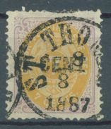 DANSK VESTINDISKE - 1887 - USED/OBLIT. - ST THOMAS - Yv 9  - Lot 16106 - RARE !!! SEE THE OVERPRINT - Denmark (West Indies)