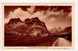 CP 9*14-TEC523-SAINT COLOMBAN DES VILLARDS COL DU GLANDON AIGUILLES DE L ARGENTIERE BEC D ARGUILLE - Autres Communes