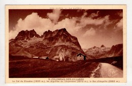 CP 9*14-TEC525-SAINT COLOMBAN DES VILLARDS COL DU GLANDON AIGUILLES DE L ARGENTIERE BEC D ARGUILLE - Autres Communes