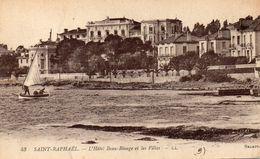 CPA SAINT RAPHAEL - L'HOTEL BEAU RIVAGE ET LES VILLAS - Saint-Raphaël