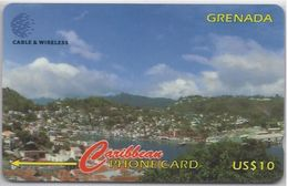 GRENADA - VIEW OF ST GEORGE'S HARBOUR - 287CGRD - Grenada