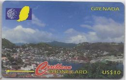 GRENADA - VIEW OF ST GEORGE'S HARBOUR - 139CGRA - Grenada