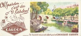 BUVARD ANCIEN CHOCOLAT CARDON N°19480 - Cocoa & Chocolat