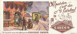 BUVARD ANCIEN CHOCOLAT CARDON N°19447 - Cocoa & Chocolat