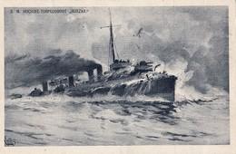 K.u.K. Kriegsmarine ,  S.M. Torpedoboot   Huszar ,  Super Feldpost - Warships