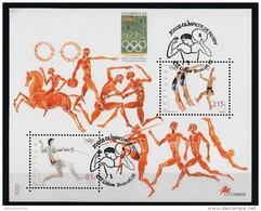Portugal 2000 : Bloc Feuillet N° 169 Oblitération 1er Jour : Jeux Olympiques De Sydney - Blocks & Sheetlets