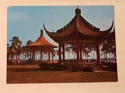 Taiwan, Chengching Lake - 3 Pavilions, Gelaufen 1987 (aus Dtl.) - Taiwan