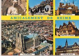 DEPT 51 : édit. Yvon : Reims Vu Du Ciel Par Alain Perceval : Multivues - Reims