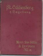 Frankrijk France St Odilienberg & Umgebung - Mont Ste. Odile & Environs 763 M. Carnet Avec 18 Photos - Géographie