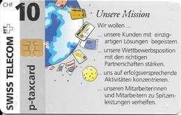Swiss Telecom: 09/96 Ascom - Service Automation - Schweiz
