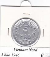VIETNAM DEL NORD   5  HAO  ANNO 1946  COME DA FOTO - Vietnam