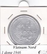 VIETNAM DEL NORD   1  DONG  ANNO 1946  COME DA FOTO - Vietnam