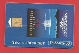 TELECARTE 50 U TIRAGE 1000 000 EX. PARIS LE BOURGET - Avions