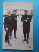 GUERRE 14-18 : NOS CHEFS (Gx CASTELNAU , JOFFRE , PAU ) Courrier Envoyé à SAINTES, C.P.A., Carte En Très Bon état, - Saintes