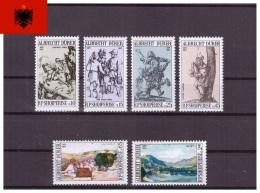 Albanie 1971 - MNH ** - Peinture - Michel Nr. 1480-1485 Série Complète (alb061) - Albania