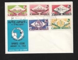 ETHIOPIA    1962 Sports  FDC - Ethiopie