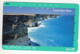 JAPON TELECARTE AUSTRALIAN BLUE - Australie