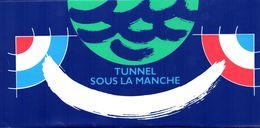 France. Emission Commune France/angleterre.tunnel Sous La Manche. Annee 1994. - Sheetlets