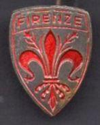 2- Blason épinglette Années 60: FLORENCE FIRENZE Italie - Obj. 'Souvenir De'