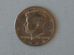Etats-Unis, United States, USA - Half 1/2 Dollar 1964 P Kennedy - Silver, Argent - Federal Issues