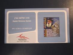 ISRAEL STAMP FIRST DAY ISSUE BOOKLET 2011 RABBI GOREN HOLY LAND POSTAL HISTORY AIRMAIL JERUSALEM TEL AVIV POST JUDAICA - Stamps