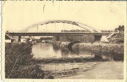 Bleharies -- Le Pont Sur L' Escaut.     ( 2 Scans ) - Brunehaut