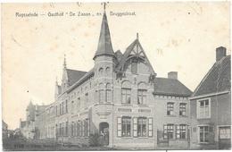Ruysselede NA2: Gasthof De Zwaan En Bruggestraat 1907 - Ruiselede