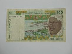 500 Cinq Cents Francs 1986- 1996 -  Banque Central Des états De L'Afrique De L'ouest  **** EN ACHAT IMMEDIAT **** - Côte D'Ivoire