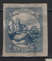 Liberia 1860 Y.T. 2 O/Used VF/F - Liberia